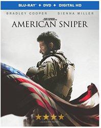 American Sniper (Blu-ray + DVD + Digital HD)