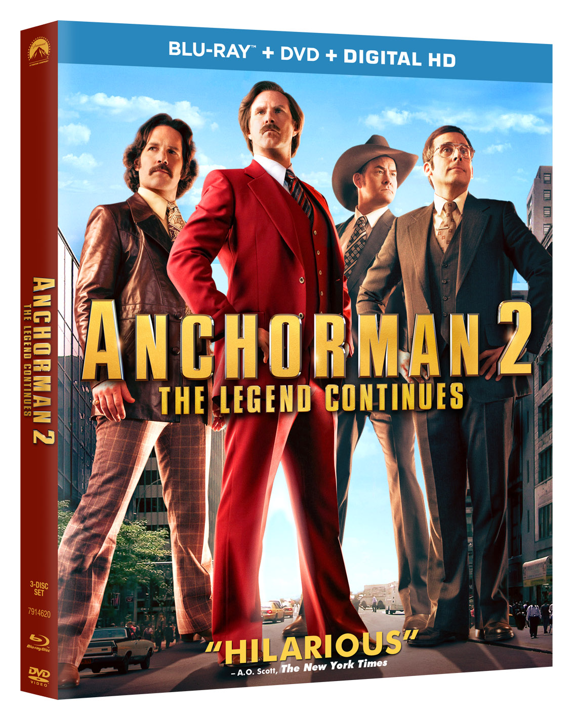 Anchorman 2 Blu-ray Review