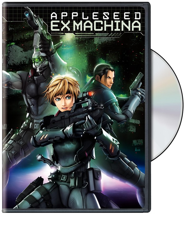 appleseed ex machina dvd review smartcine