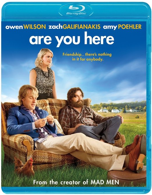 Are You Here (Blu-ray + DVD + Digital HD)