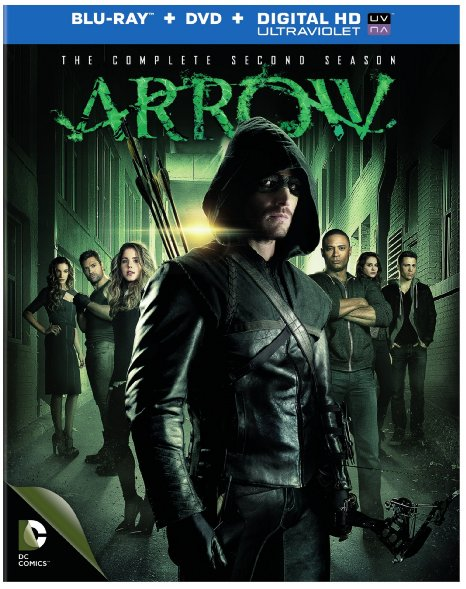 Arrow Season 2 (Blu-ray + DVD + Digital HD)