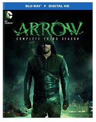 Arrow Season 3 Blu-ray Cover