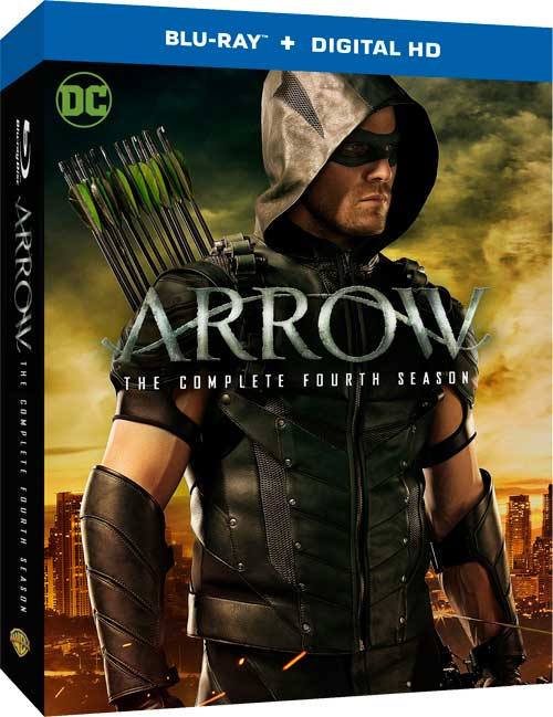 ARROW SEASON FOUR Blu-ray