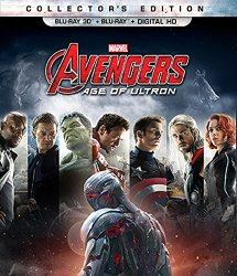 Avengers Age of Ultron 3d Blu-ray