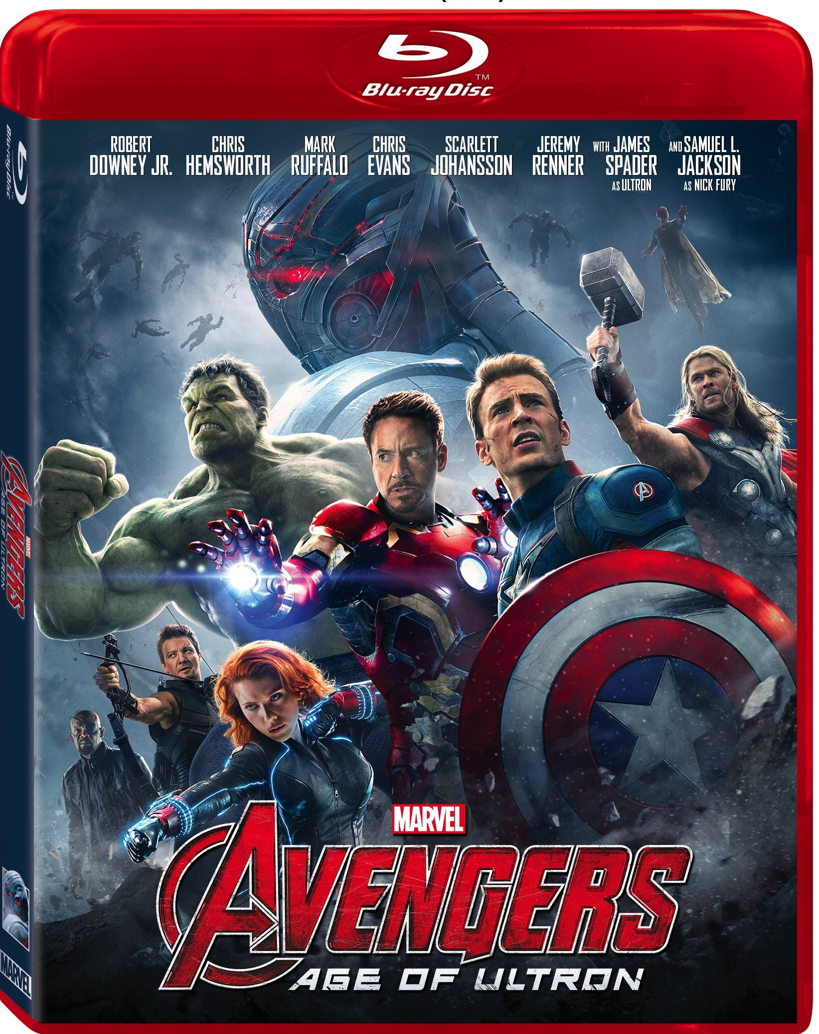 Avengers Age of Ultron Blu-ray Review