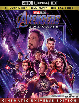 Avengers Endgame (Blu-ray + DVD + Digital HD)