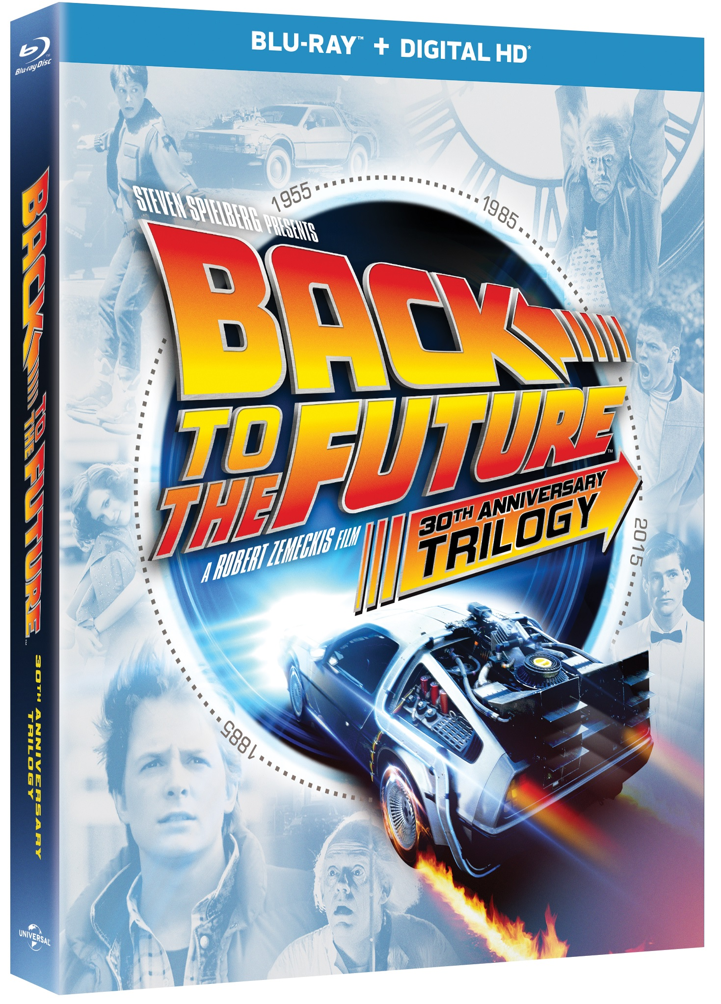 Back to The Future 30 Anniversary Trilogy Blu-ray Review