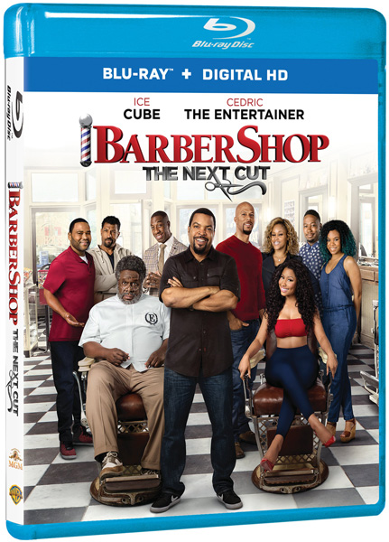 BARBERSHOP THE NEXT CUT Blu-ray