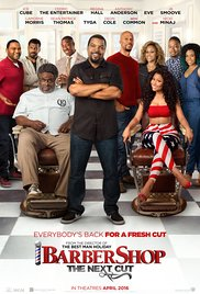 Barbershop The Next Cut Blu-ray Cover