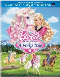 Barbie and Her Sisters in a Pony Tale Blu-ray