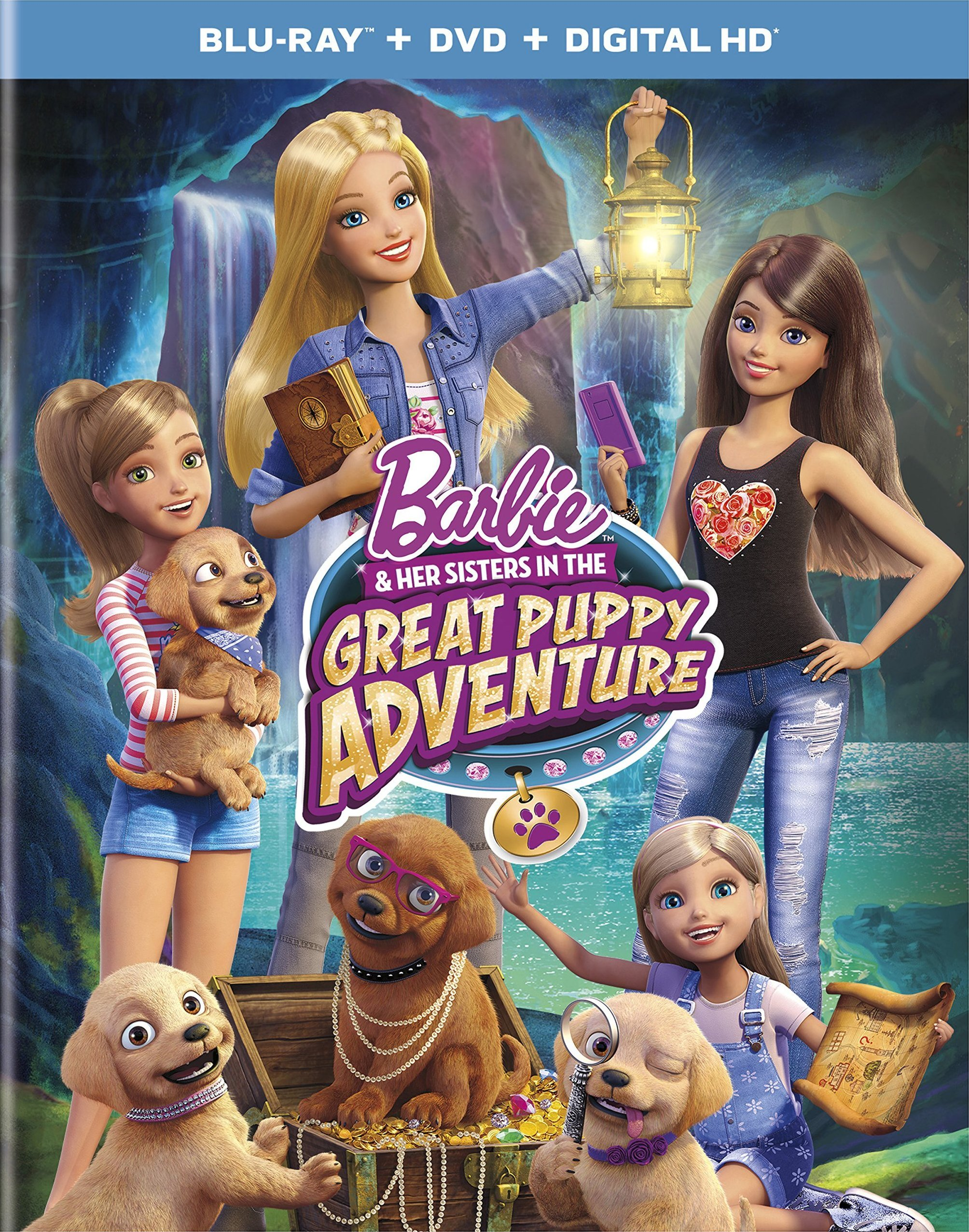 Barbie & Her Sisters In The Great Puppy Adventure Blu-ray Review