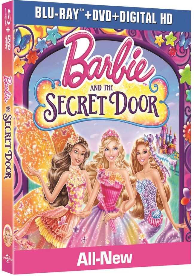 Barbie and The Secret Door Blu-ray Review