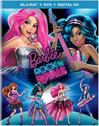 Barbie in Rock'n Royals Blu-ray Cover