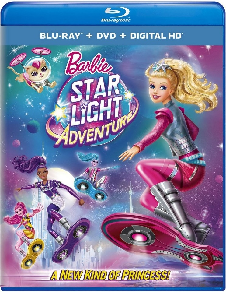 Barbie Star Light Adventure Blu-ray Review