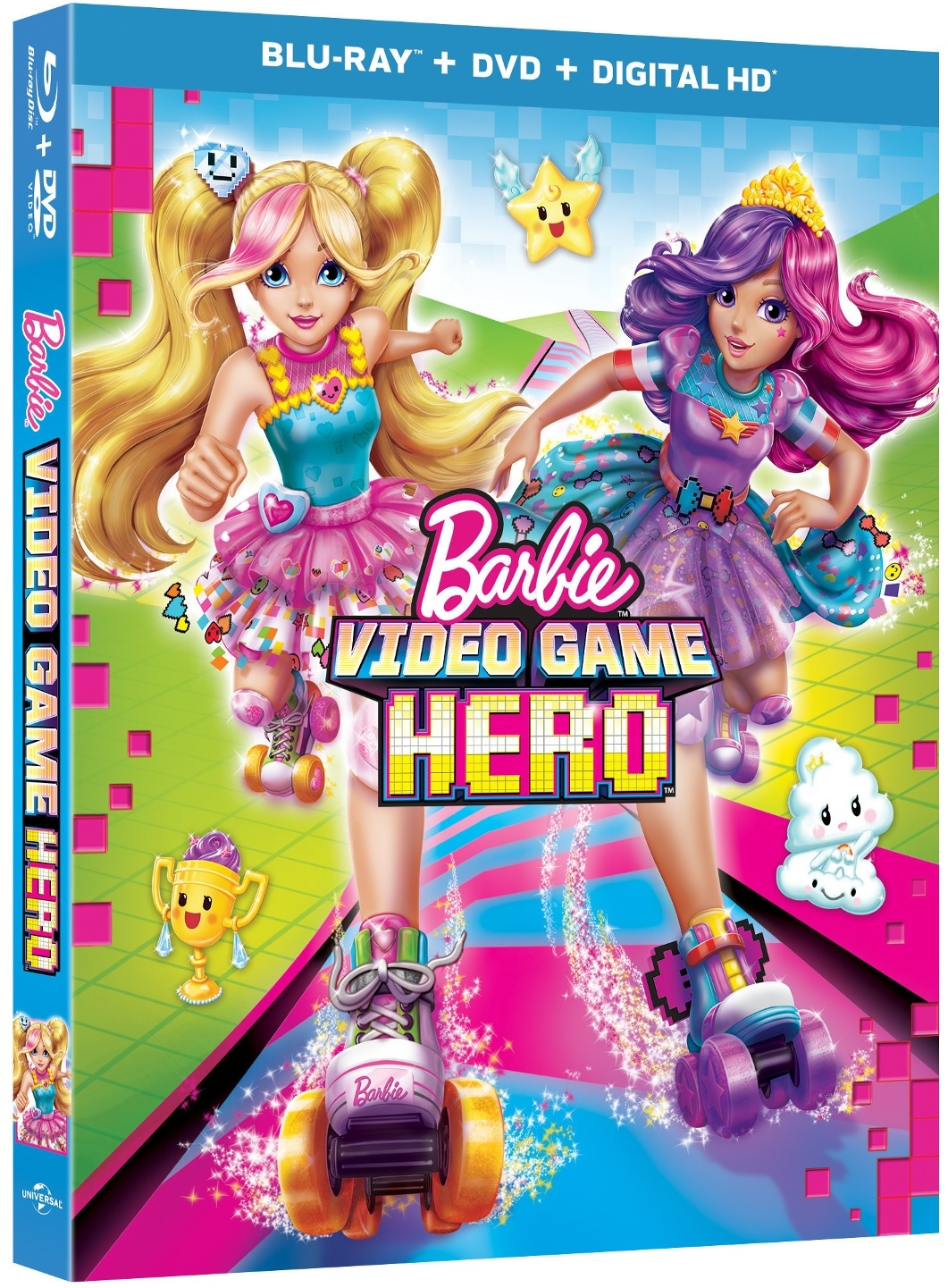 Barbie Video Game Hero Blu-ray Review
