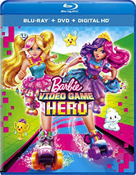 Barbie Video Game Hero Blu-ray