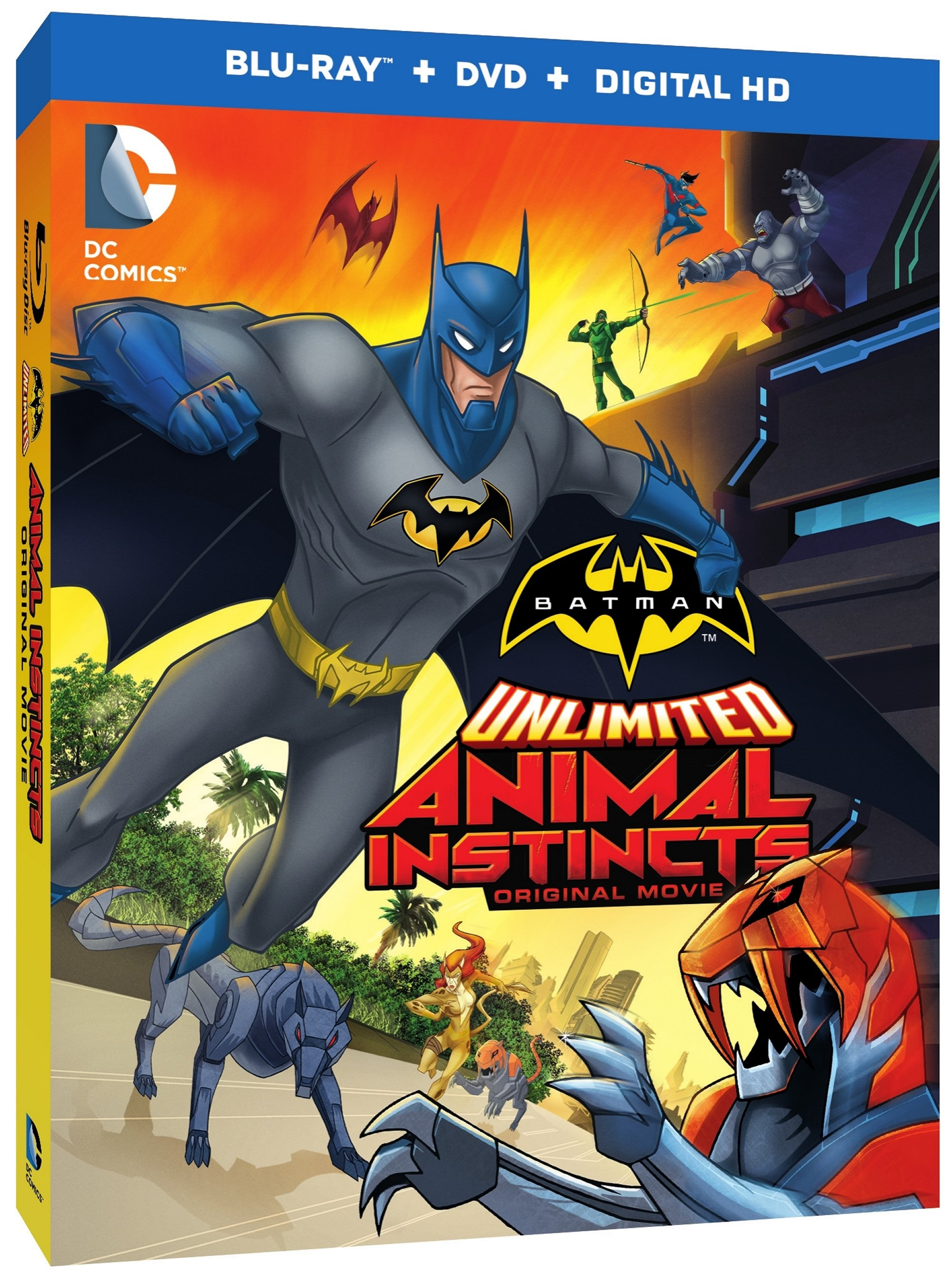 Batman Unlimited: Animal Instincts Blu-ray Review