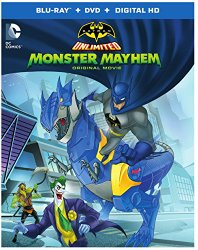 Batman Unlimited Monster Mayhem Cover