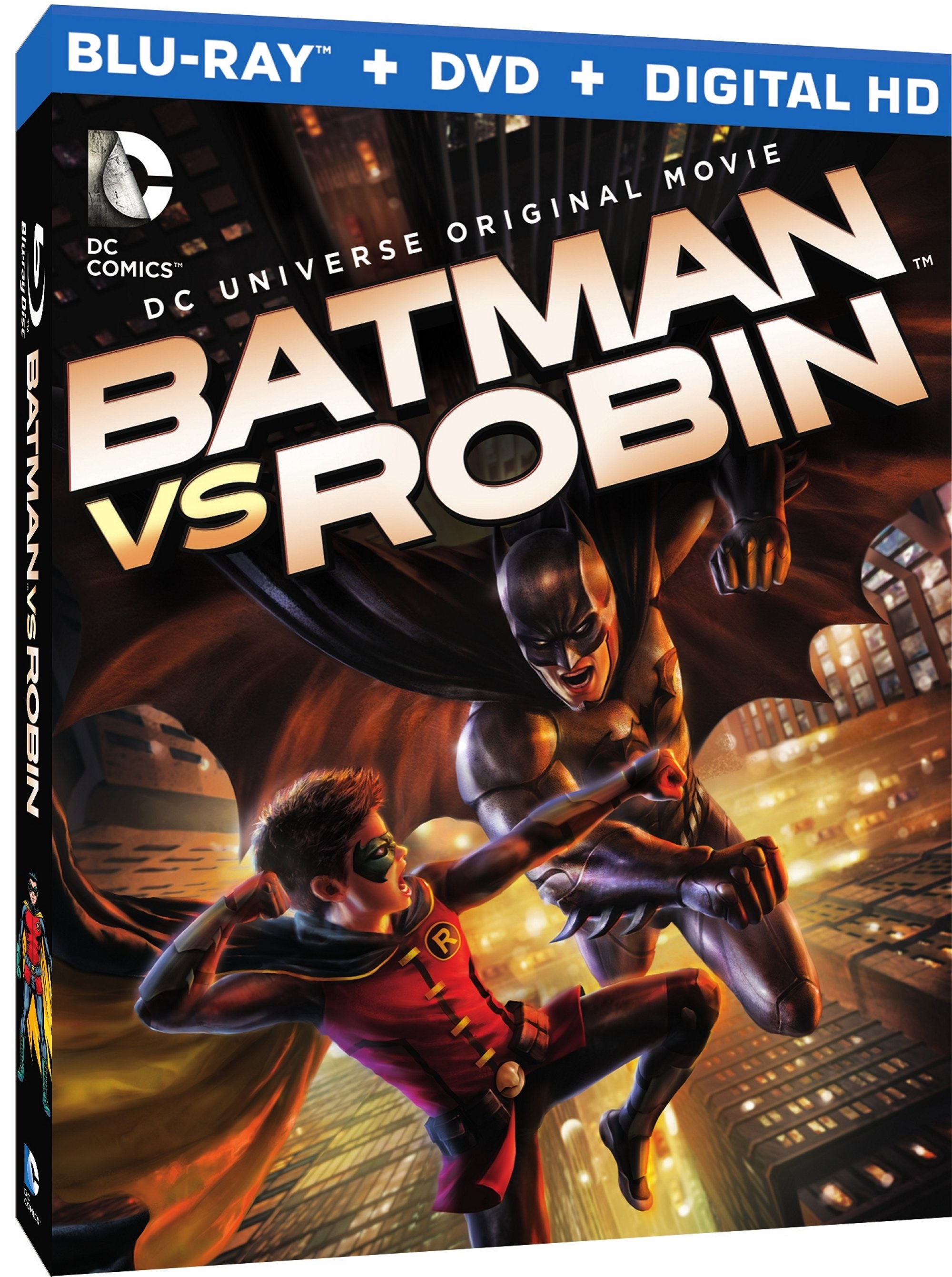 Batman vs Robin Blu-ray Review