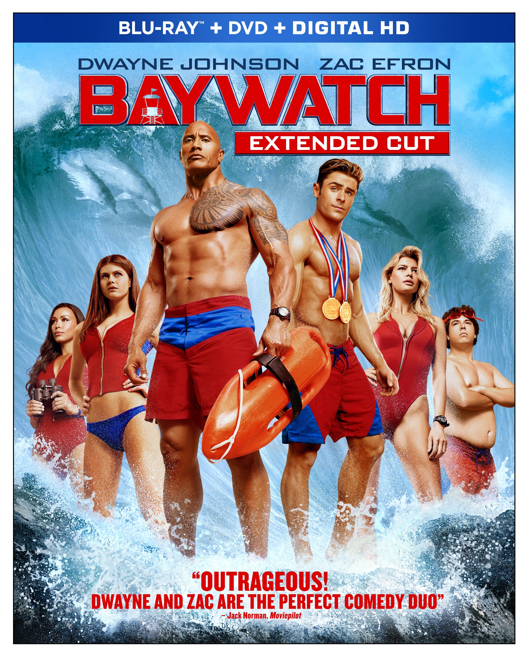 Baywatch Blu-ray Cover