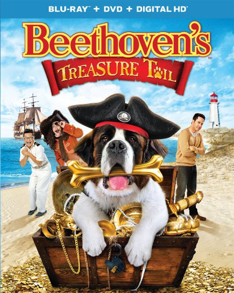 Beethoven's Treasure Tail (2 Discs)  (Blu-ray + DVD + Digital HD)