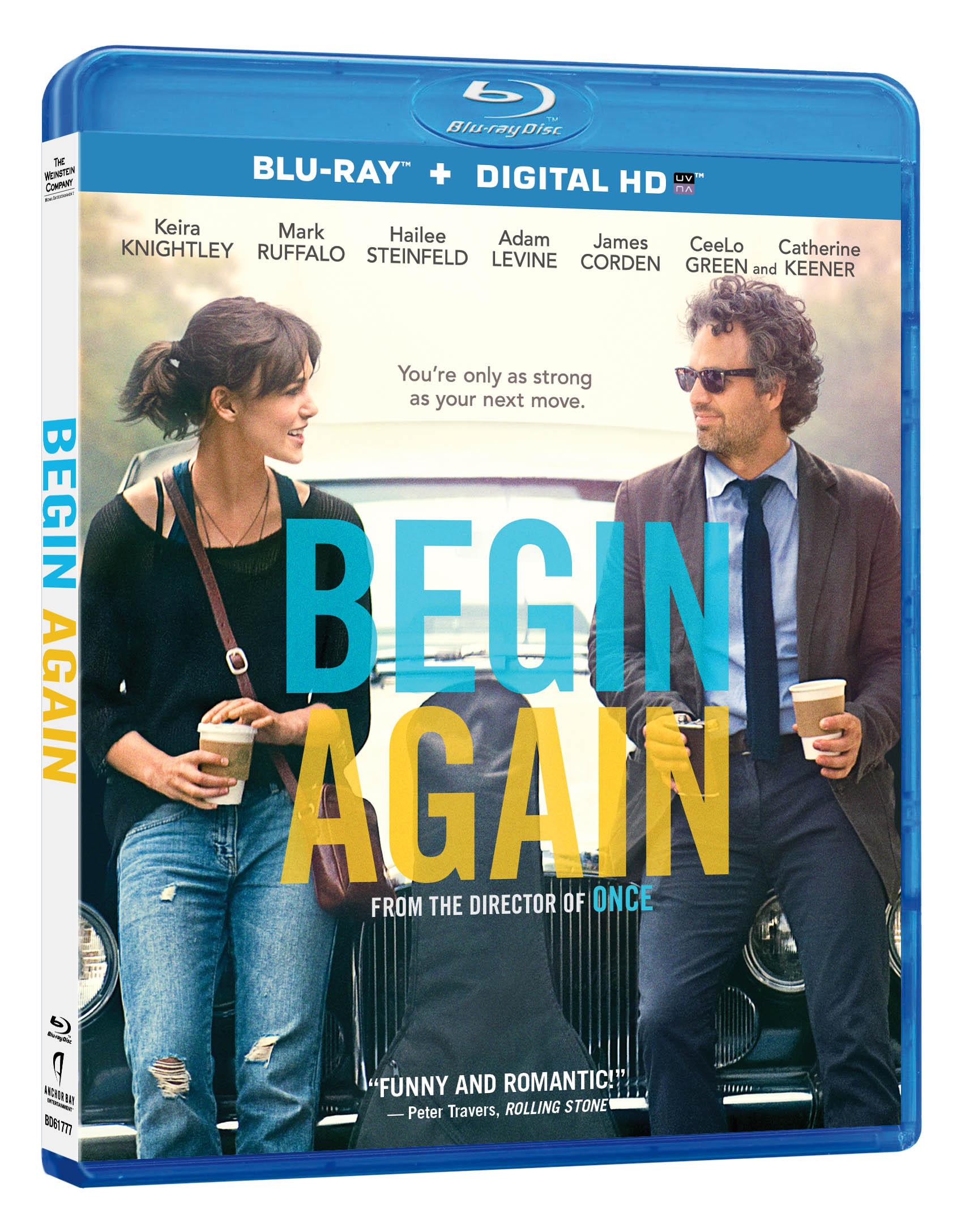 Begin Again Blu-ray Review