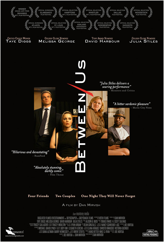 Between Us (Blu-ray + DVD + Digital HD)