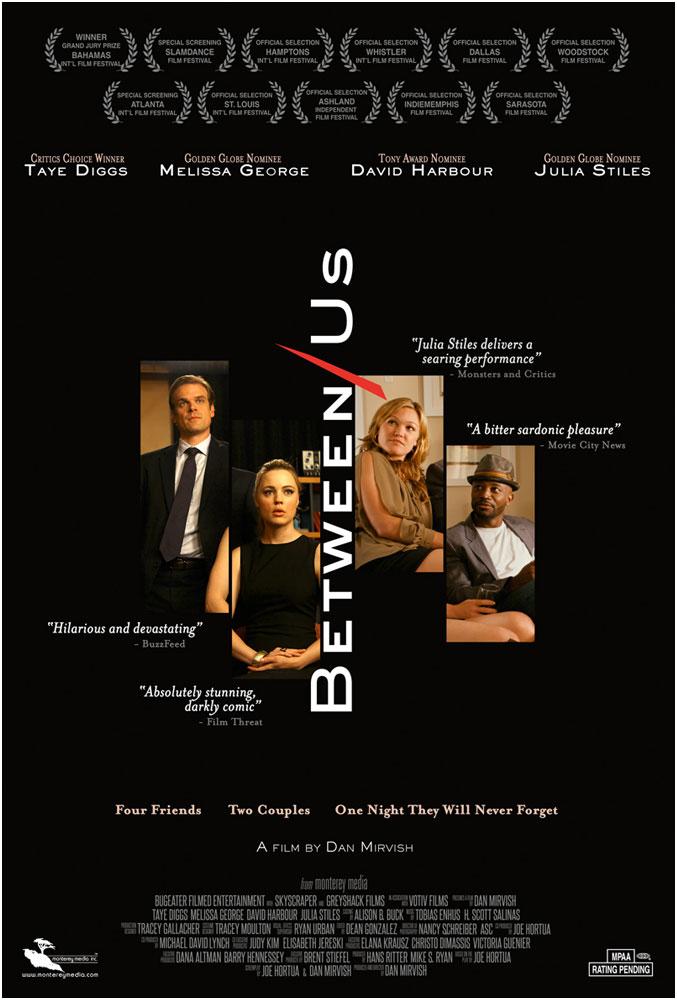 Between Us (Blu-ray + DVD + Digital HD)