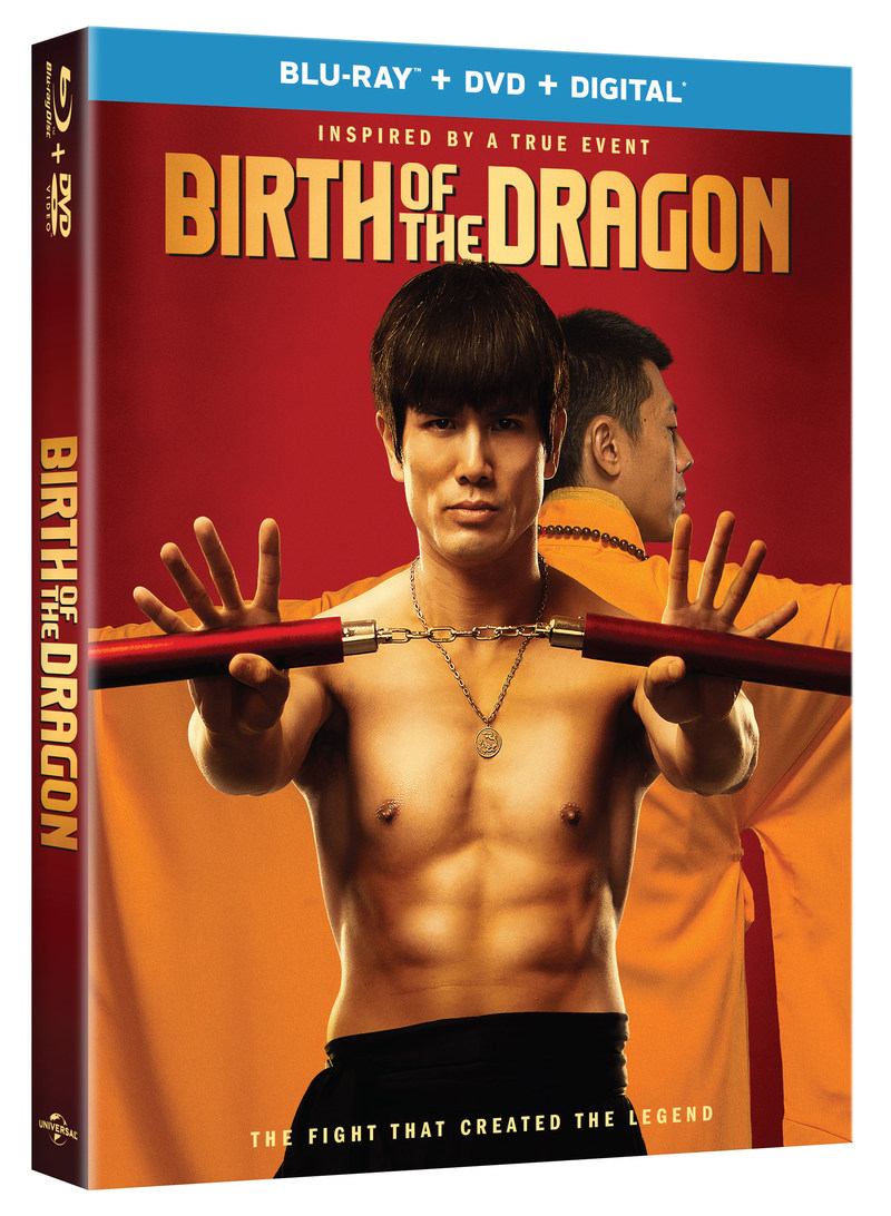 THE BIRTH OF THE DRAGON Blu-ray
