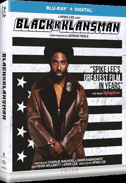 BLACKKKLANSMAN Blu-ray