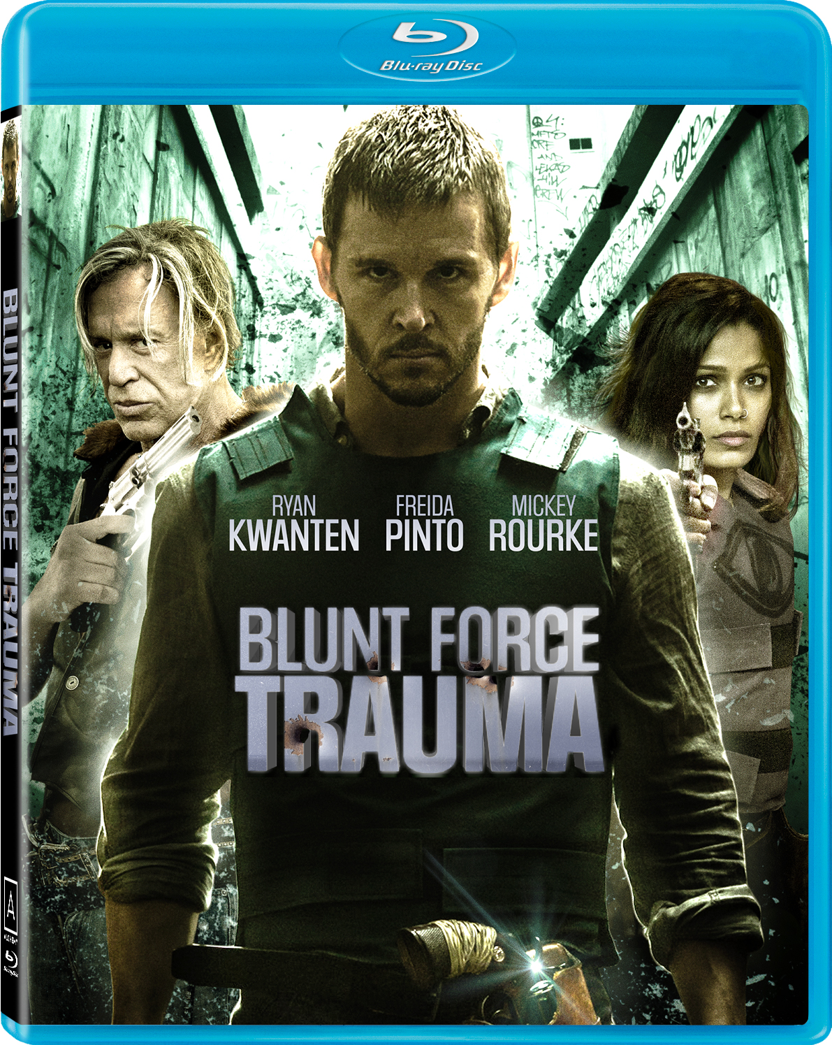 BLUNT FORCE TRAUMA DVD Review