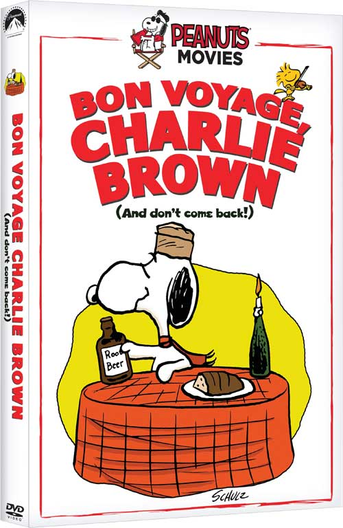 Bon Voyage Charlie Brown DVD Review
