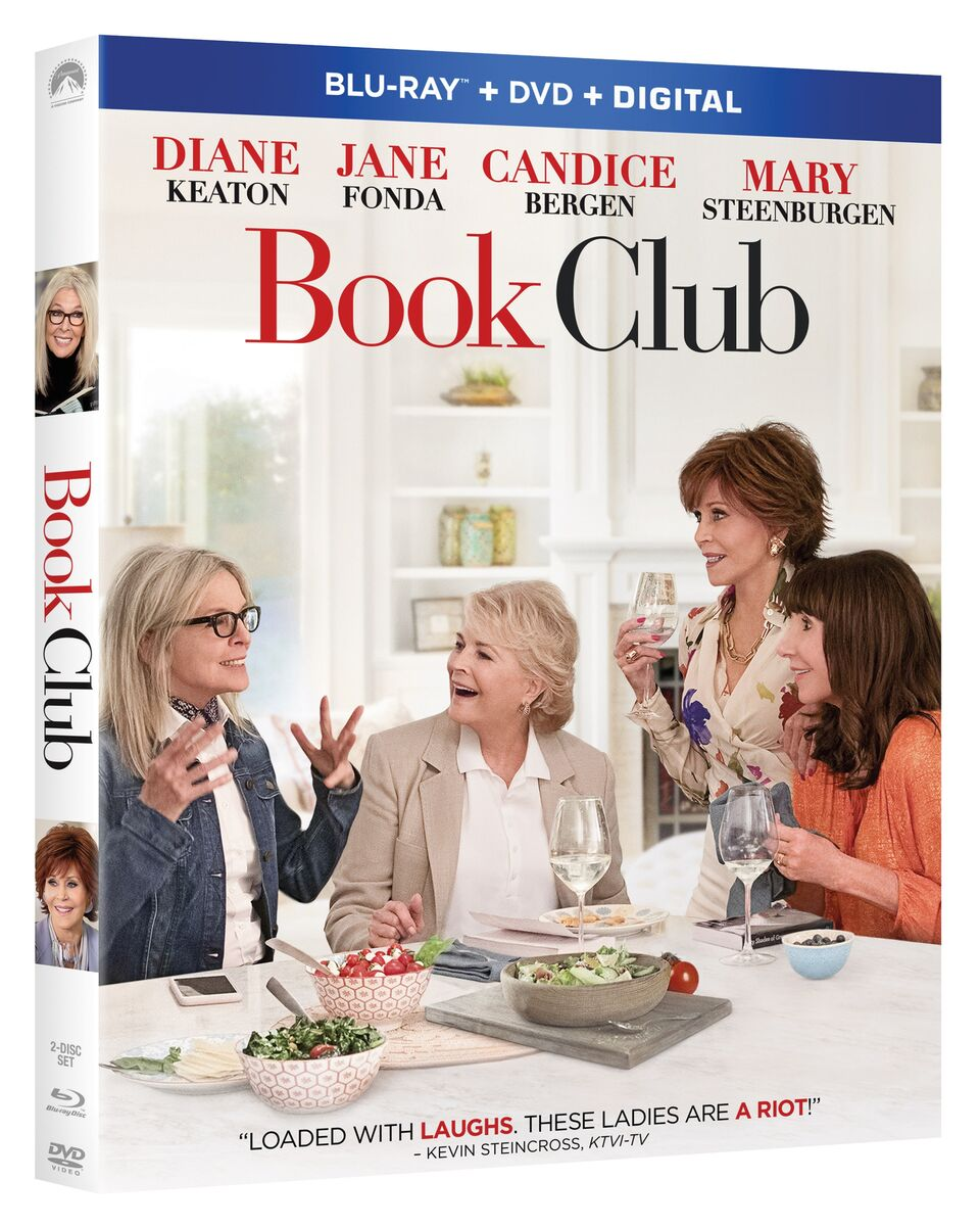 Book Club Blu-ray Review