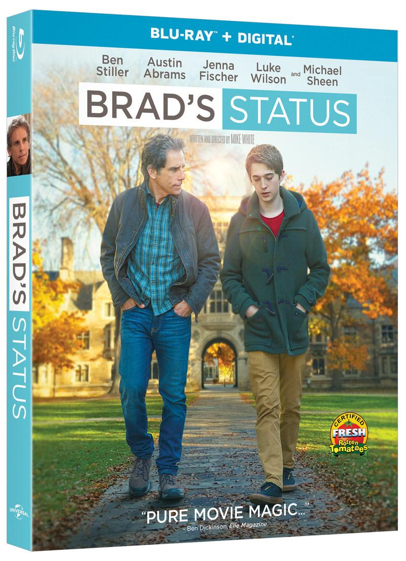 BRAD'S STATUS Blu-ray