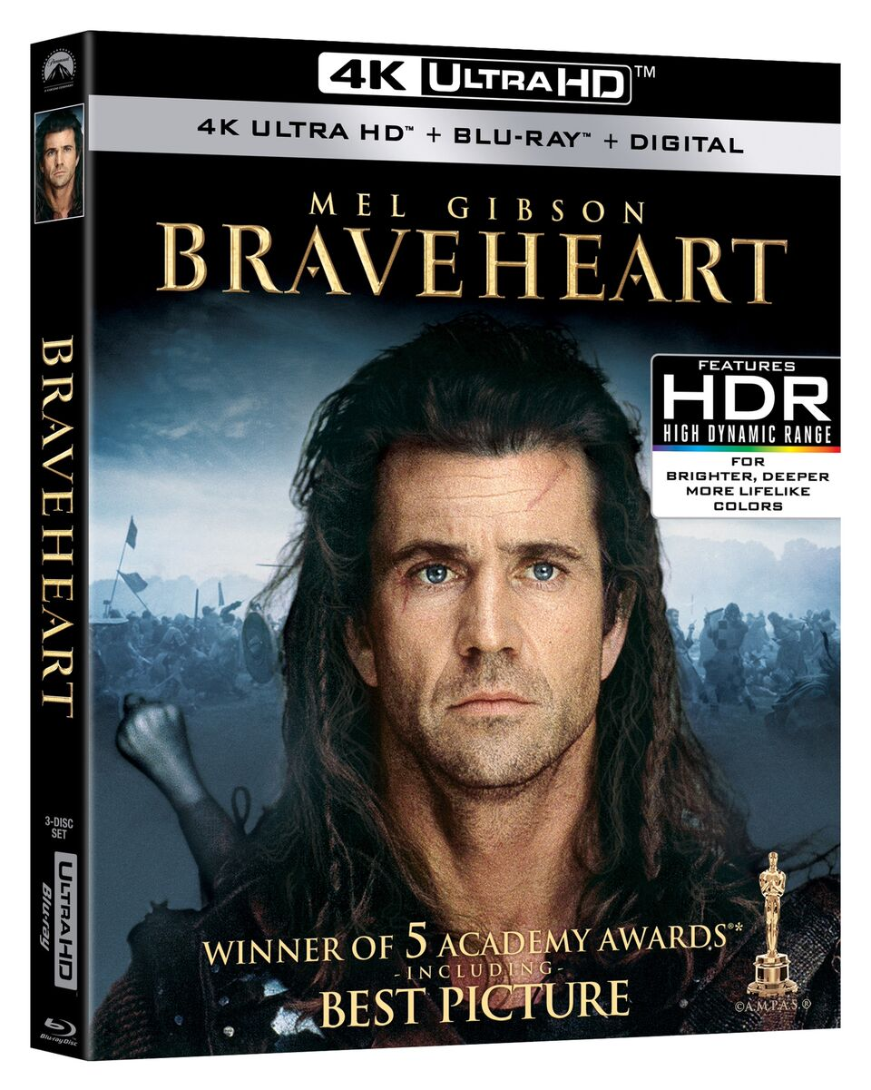 Braveheart Blu-ray Review