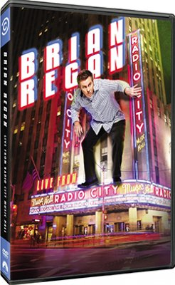 Brian Regan Live From Radio City Music Hall DVD Review