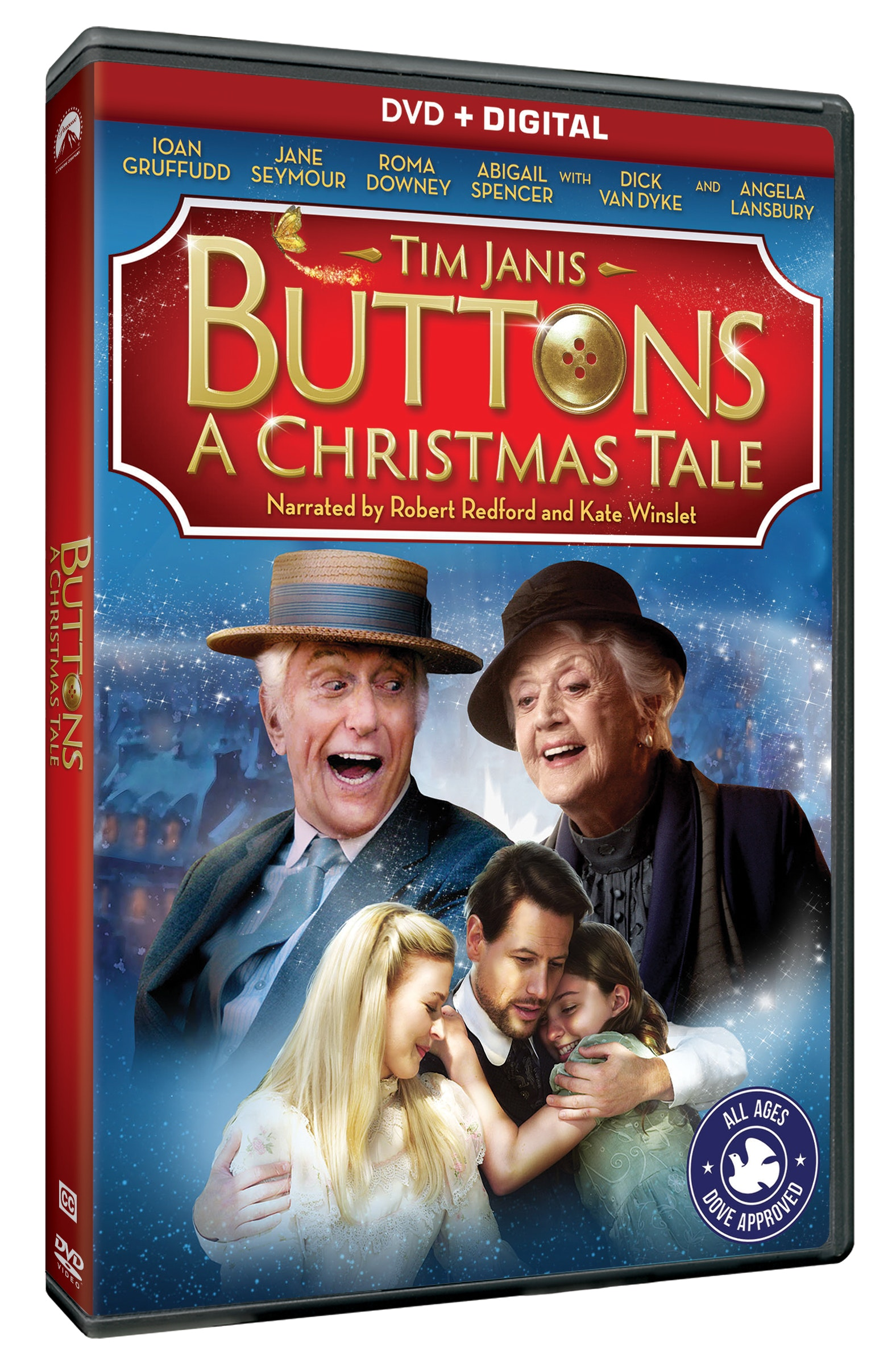 BUTTONS: A CHRISTMAS TALE Blu-ray
