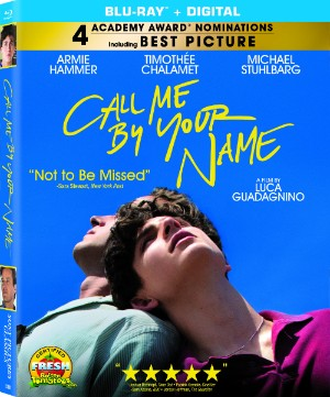 CALL ME BY YOUR NAME Blu-ray