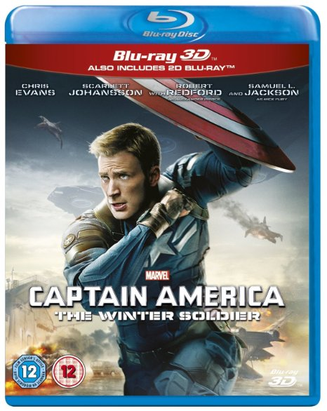 Captain America The Winter Soldier (Blu-ray + DVD + Digital HD)
