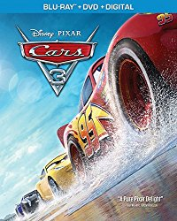 Cars 3 (Blu-ray + DVD + Digital HD)