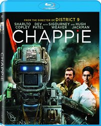 Chappie (Blu-ray + DVD + Digital HD)