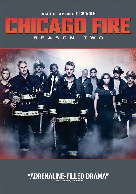 Chicago Fire Season 2  (Blu-ray + DVD + Digital HD)