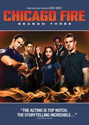 Chicago Fire Season 3 Blu-ray Cover