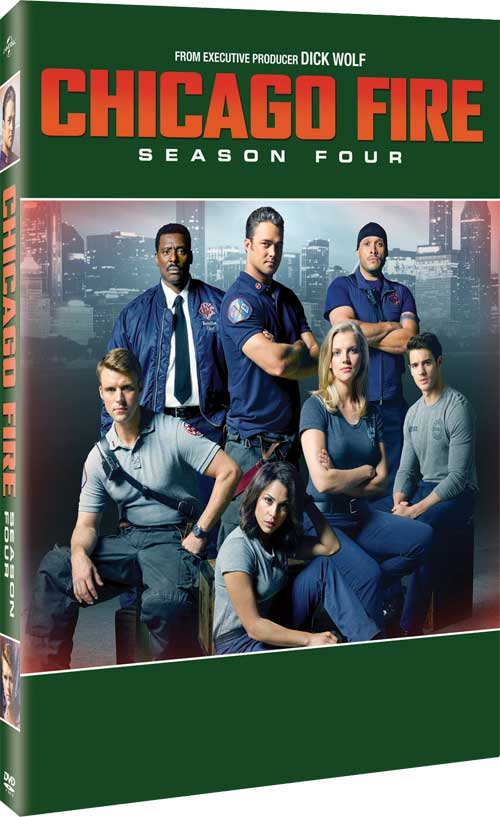 CHICAGO FIRE SEASON 4 DVD