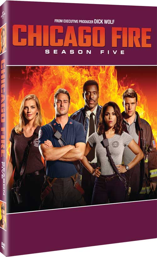 Chicago Fire Season Five DVD