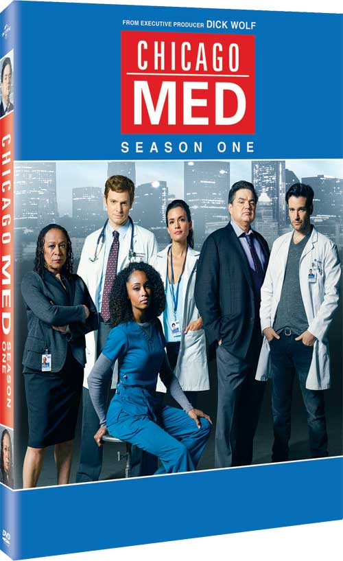 CHICAGO MED SEASON ONE DVD