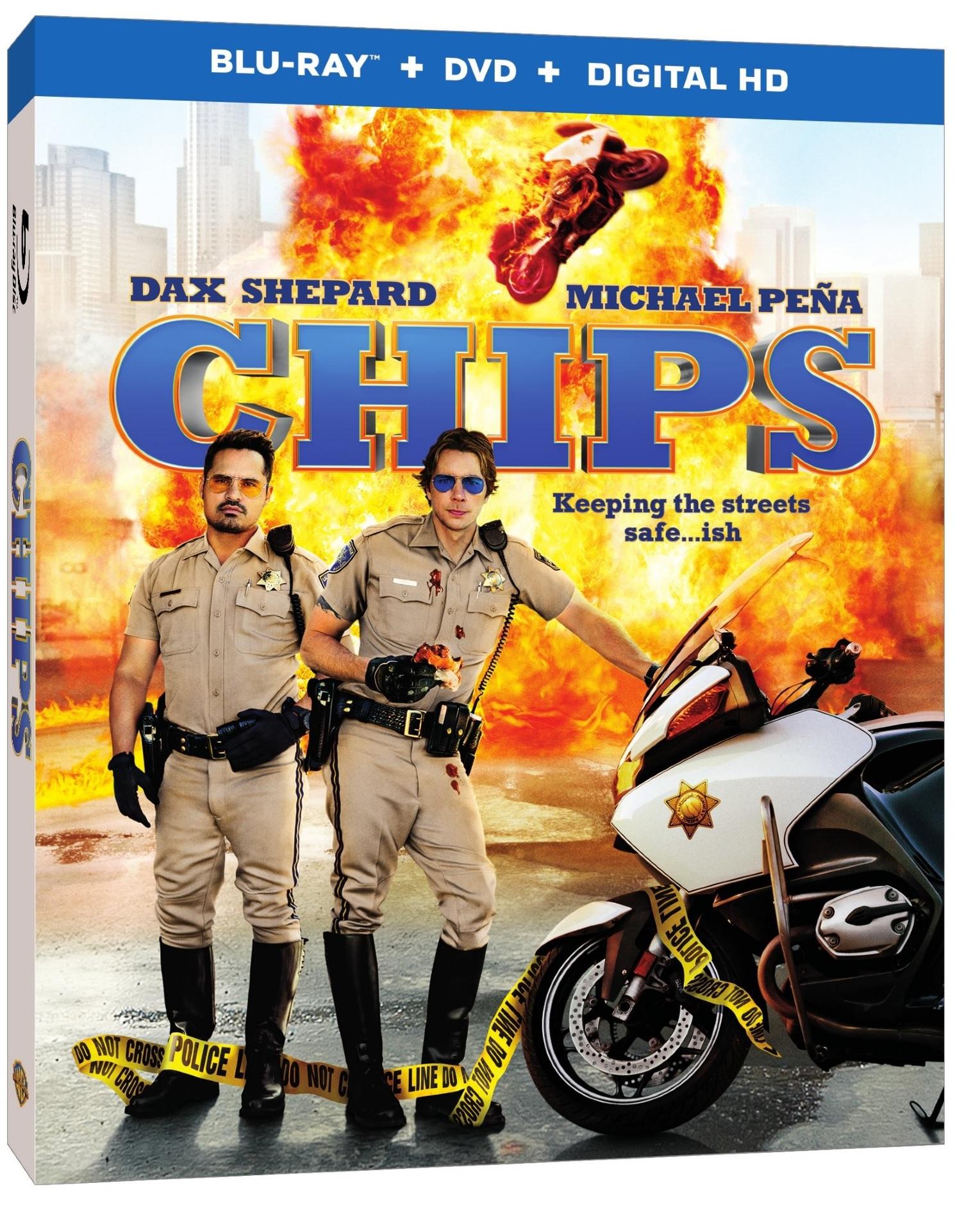CHIPS Blu-ray