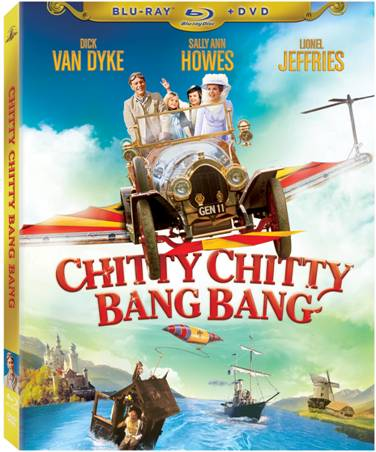 Chitty Chitty Bang Bang DVD/Blu-ray Combo Pack Special Features: