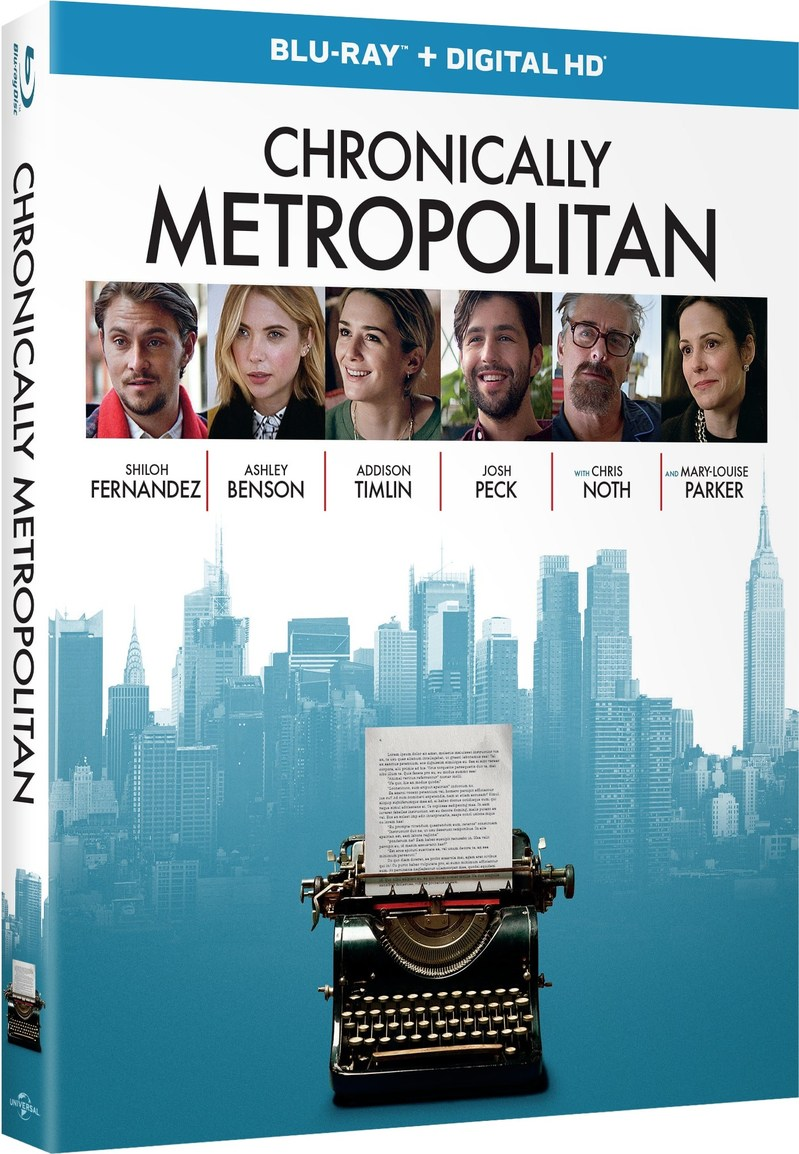 CHRONICALLY METROPOLITAN Blu-ray