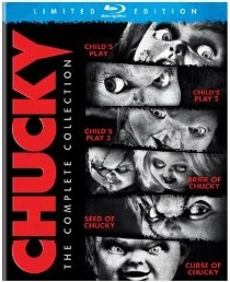 Chucky  The Complete Collection Blu-ray